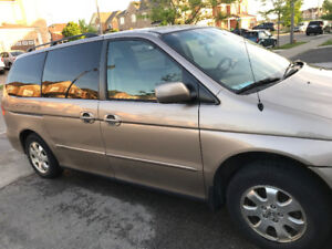 Honda Odyssey in Performing perfectly
