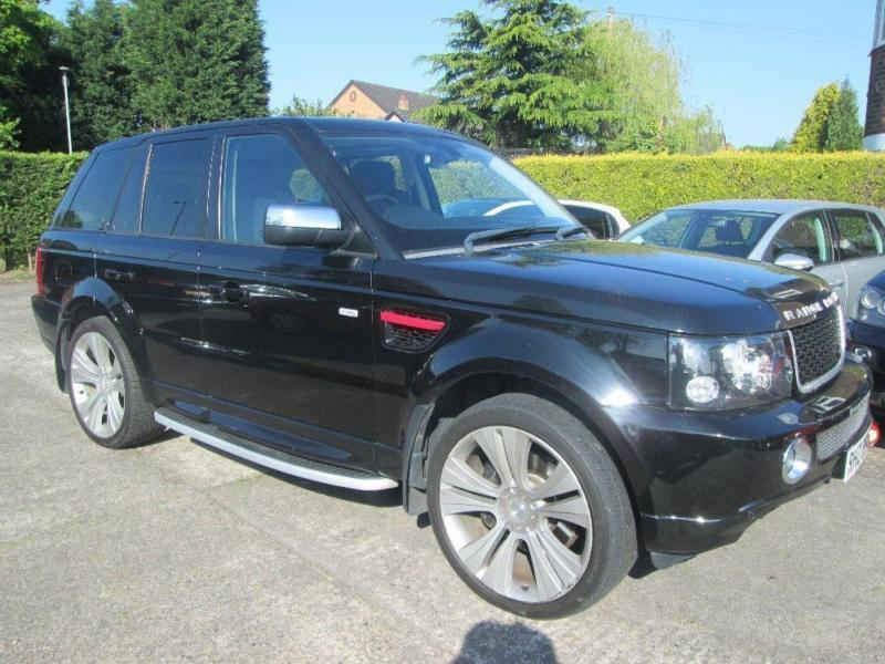 2007 07 range rover sport 2 7 tdv6 auto hse black in warrington cheshire gumtree. Black Bedroom Furniture Sets. Home Design Ideas