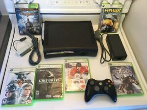X Box 360 complète 120gig + jeux - 100$