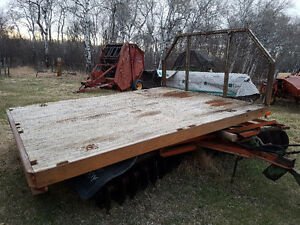 10ft flatbed truck deck