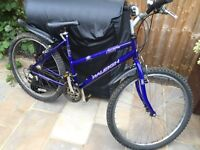 """Ladies 18"""" bicycle. Inc new lights & mudguards. Free delivery, D lock available"""