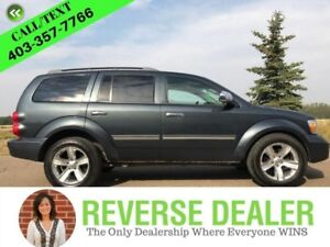 "2008 Dodge Durango SLT  8 passenger, Two-tone Leather, 20"" Wheel"