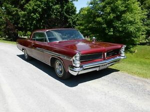 1963 Pontiac Bonneville 2Dr-a Beautiful and Perfect Cruising Car