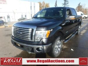 2012 Ford F150 XLT SUPERCREW SWB 4WD 3.5L XLT