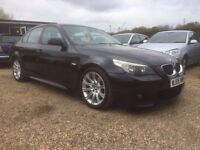 BMW 530D AUTO M SPORT 2005 1 OWNER FROM NEW FULL SERVICE HISTORY