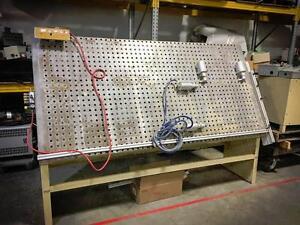 Ritter R375V Frame Clamping System