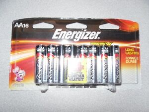 Energizer MAX Batteries (AA) - Brand New