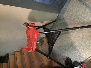 """RIDGID 460 PIPE VISE TRISTAND and 3/8 to 1"""" hand dies"""