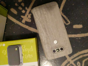LG G5 with Cam Plus and Dbrand Skin