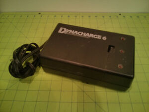 Dynacharge 6 Battery Charger for AA, AAA, C, D, 9V Rechargable