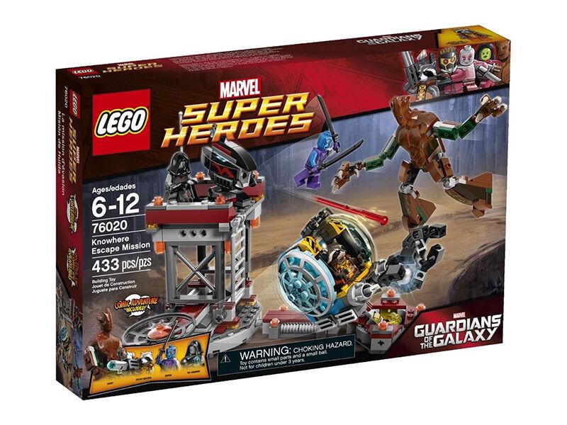 Lego Marvel Superheroes Knowhere Escape Mission