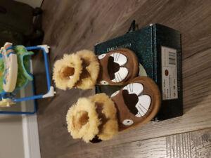 Bottes bébé 12-18 mois EMU Laine