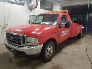1999 Ford F-350 towing 5000nego