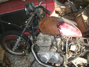 76 suzuki gs 400 parts bike