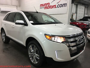 "2014 Ford Edge NAV Sport Platinum White 22"" Wheels Panoramic"