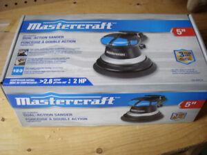 """Mastercraft 5"""" Dual Action Pneumatic Air-Powered Sander"""