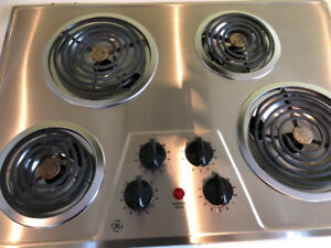 Surface de cuisson GE stainless