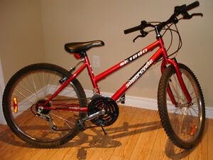 """Youth bicycle in new condition - 24"""" wheels"""