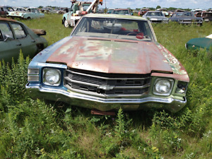 Wanted to buy 71/72 chevelle