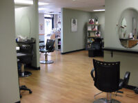 Hiring  Hairstylist and Nail Technician in a very busy area!!