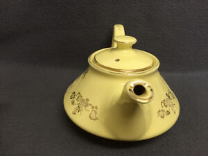 Collectible Antique Pearl China Co Lusterware Teapot London Ontario image 5