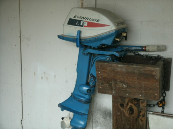 Used 1970 Evinrude 6HP FISHERMAN