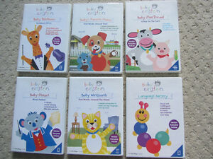 Set of Six Baby Einstein DVDs London Ontario image 1