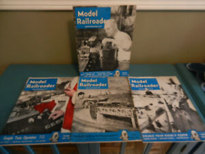Vintage Model Railroad Magazines 1940's to 1970's Lot of 14