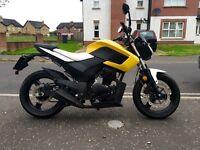 125 cc Motorcycle (Full MOT)
