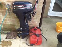 Evinrude 10hp Outboard Motor- Two Stroke, short shaft