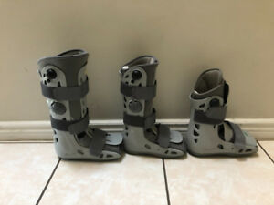 Air cast Walking Boots
