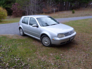 2001 Volkswagen Golf Hatchback