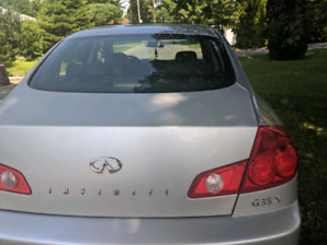 Infiniti G35x in excellent condition