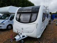 2011 Sterling Eccles Ruby Fixed Bed End W/room Caravan, Motor Mover, Solar Panel