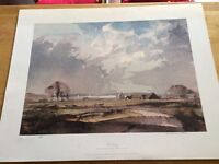 The Estuary-Rowland Hilder limited edition signed stamped