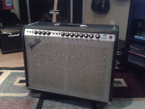 1978 Fender twin Reverb Silver Face.