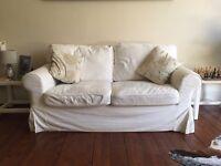 Ektorp Two Seater Ikea sofa