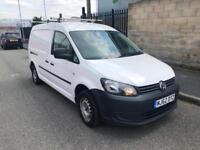 Volkswagen Caddy Maxi 1.6TDI C20. Dual Side Doors Steel Bulkhead