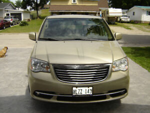 2011 TOWN AND COUNTRY VAN, 107 Km,  $13,600.  cert.