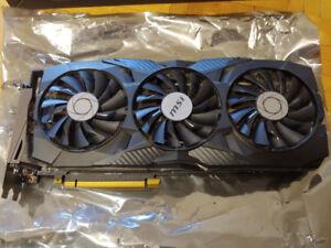 MSI Geforce GTX 1080 Ti *Like New* 2+ years on Warranty left.