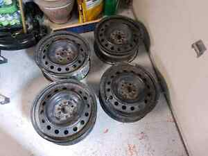 Corolla steel wheels 5x100 16inch
