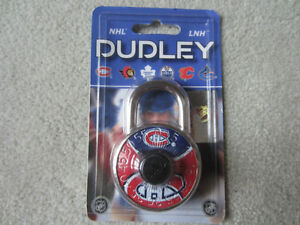 BRAND NEW - MONTREAL CANADIENS DUDLEY COMBINATION LOCK
