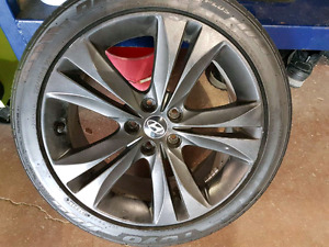 staggered set of 18s