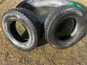 2 Tires 245 75 r16 Winter