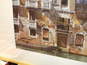 BALCONIES ON THE GRAND CANAL IN VENICE,..40'' x 28.5'' IKEA Kitchener / Waterloo Kitchener Area image 4
