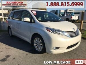 2015 Toyota Sienna Limited  - Low Mileage