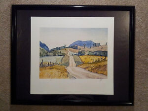 "A.J. Casson ""Country Road"" Lithograph - Appraised at $500 London Ontario image 5"