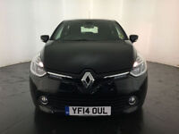 2014 RENAULT CLIO D-QUE M-NAV NRG DCI DIESEL 1 OWNER FROM NEW FINANCE PX WELCOME