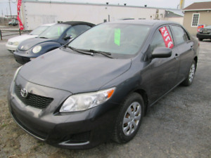CERTIFIED 2009  TOYOTA COROLLA  AUTOMATIC