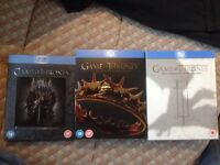Game of thrones season 1-3